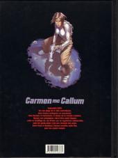 Verso de Carmen Mc Callum -6TL- Le sixième doigt du Pendjab