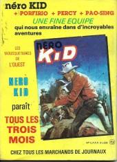 Verso de Tex-Tone -504- Le maître