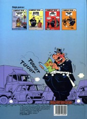 Verso de L'agent 212 -3a1985- Sens interdit