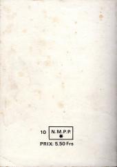 Verso de Capt'ain Swing! (1re série) -Rec027- Album N°27 (du n°105 au n°108)