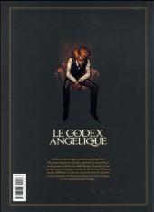 Verso de Le codex Angélique -INT- Le Codex Angélique
