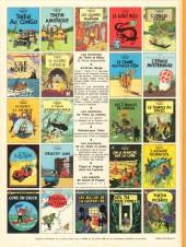 Verso de Tintin (Historique) -13C3bis- Les 7 boules de cristal