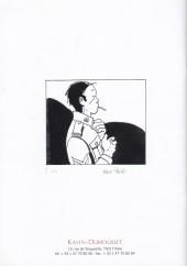 Verso de (Catalogues) Ventes aux enchères - Kahn-Dumousset - Kahn-Dumousset - Bandes dessinées - samedi 3 octobre 2009
