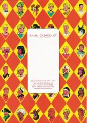 Verso de (Catalogues) Ventes aux enchères - Kahn-Dumousset - Kahn-Dumousset - Bandes dessinées - 9 mai 2010 - Paris Drouot Montaigne