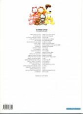 Verso de Garfield -28b2011- Garfield fait des vagues