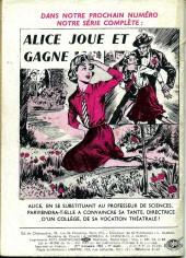 Verso de Frimousse et Frimousse-Capucine -74- Mariette dans la tourmente