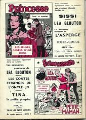 Verso de Frimousse et Frimousse-Capucine -1961- Le prisonnier de Stanboul