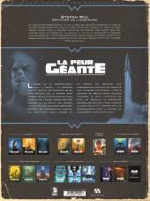 Verso de La peur géante -3- La guerre des abysses
