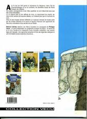 Verso de Les héros cavaliers -3a94- Mark de Cornwall