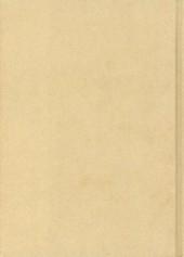 Verso de Futuropolice -24- Horreur pastorale