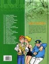 Verso de Léo Loden -24- Les Cigales du Pharaon