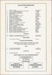 Verso de Michel et Thierry -5(4)- Mylène et ses carats