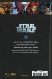 Verso de Star Wars - Légendes - La Collection (Hachette) -93- La Genèse des Jedi - III. La guerre de la Force