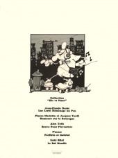 Verso de Harry Mickson -3- Harry Mickson nettoie ses pinceaux
