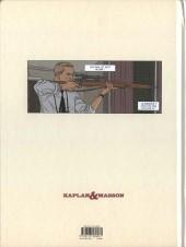 Verso de Kaplan & Masson (Une aventure de) -2- Il faut sauver Hitler