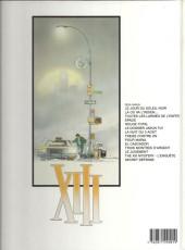 Verso de XIII -13a2002- The XIII mystery - l'enquête
