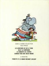 Verso de La jungle en folie -4- Corrida pour une vache maigre