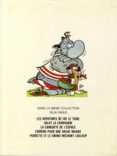 Verso de La jungle en folie -5- Perrette et le grand méchant Louloup