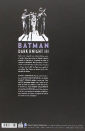 Verso de Batman - Dark Knight III -1- Tome 1