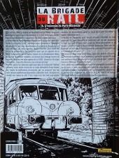 Verso de La brigade du rail -4- L'inconnue du Paris-Marseille