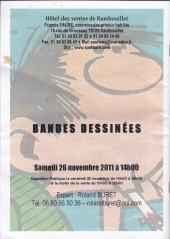 Verso de (Catalogues) Ventes aux enchères - Divers - Faure - Bandes dessinées - samedi 26 novembre 2011 - Hôtel des ventes de Rambouillet
