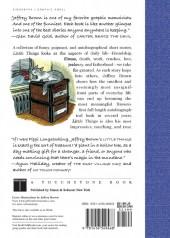 Verso de Little things (2008) - A memoir in slices