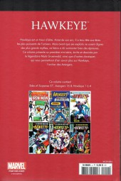 Verso de Marvel Comics : Le meilleur des Super-Héros - La collection (Hachette) -4- Hawkeye
