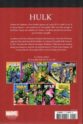 Verso de Marvel Comics : Le meilleur des Super-Héros - La collection (Hachette) -5- Hulk