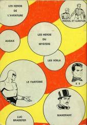 Verso de Les héros de l'aventure (Classiques de l'aventure, Puis) -Rec12- Album N°12 (du n°34 au n°36)