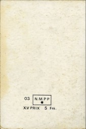 Verso de Brik (Mon journal) -Rec47- Album N°47 (du n°176 au n°178)