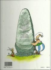 Verso de Astérix (Hachette) -6c02a- Astérix et Cléopâtre