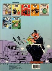 Verso de L'agent 212 -3a1988- Sens interdit