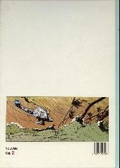 Verso de Michaël Logan -Int2- Le Pays sous l'horizon + l'intrus