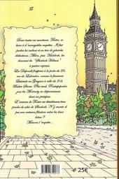Verso de (AUT) Hergé -111a11- Tintin à Baker Street