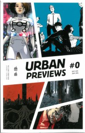 Verso de Urban Previews -0- Urban Previews #0