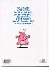 Verso de Les ripoupons -1- Touche pas à mon doudou !