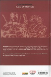 Verso de Deadpool - Les Origines