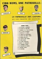 Verso de La patrouille des Castors -12a69- Menace en Camargue