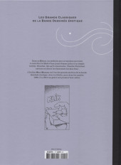 Verso de Les grands Classiques de la Bande Dessinée érotique - La Collection -11- Le Déclic - tome 1