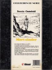 Verso de Mort Cinder -3- Tome 3