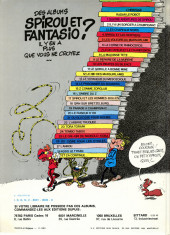 Verso de Spirou et Fantasio -1d1981- 4 aventures de Spirou ...et Fantasio