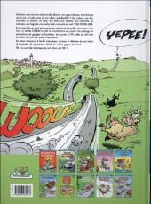 Verso de Les damnés de la route -10- Sortie de route pour la deuche!