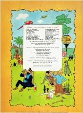 Verso de Jo, Zette et Jocko (Les Aventures de) -5B38- La vallée des cobras