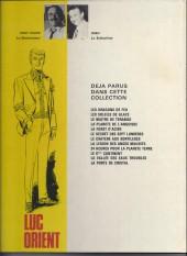Verso de Luc Orient -10b1977- Le 6ème continent