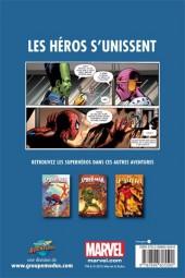 Verso de Avengers (Presses aventure) -1- Les Héros S'unissent