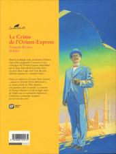 Verso de Agatha Christie (Emmanuel Proust Éditions) -4- Le Crime de L'Orient-Express