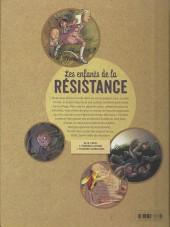Verso de Les enfants de la Résistance -2- Premières répressions