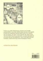 Verso de Le gourmet Solitaire - Les Rêveries d'un gourmet solitaire