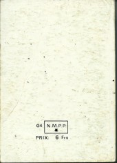 Verso de Yataca (Fils-du-Soleil) -Rec27- Album N°27 (du n°101 au n°104)