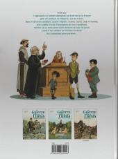 Verso de La guerre des Lulus -1a2015- 1914 - La maison des enfants trouvés